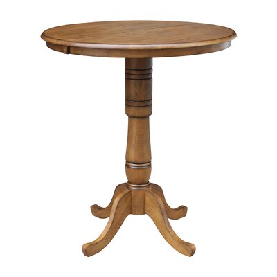 Madeline Pub Table Color: Pecan
