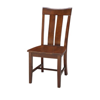 Mountain View Solid Wood Dining Chair Color: Espresso