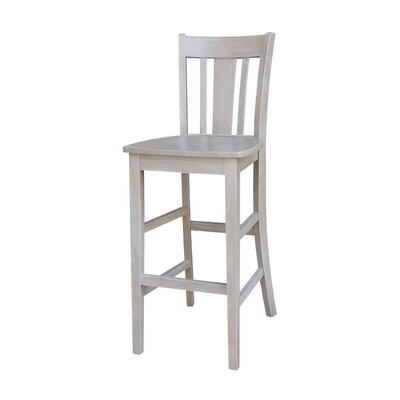 Laurier 30 Bar Stool Color: Weathered Gray