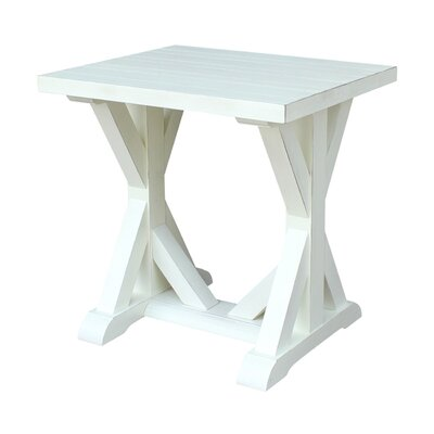 Philippine End Table Color: Sea Shell