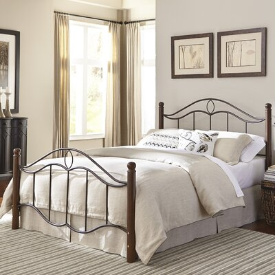 Gaspard Panel Bed Size: Queen