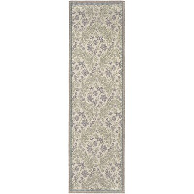 Avallon Champagne Indoor/Outdoor Area Rug Rug Size: Runner 23 x 119