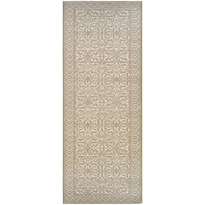 Somme Oyster Rug Rug Size: Runner 22 x 71