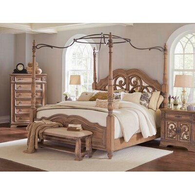 Antonie Canopy Bed Size: California King