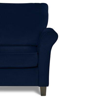 Mccrady Sofa Upholstery: Navy Blue