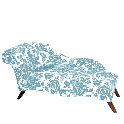 Pickering Chaise Lounge Upholstery: Robin