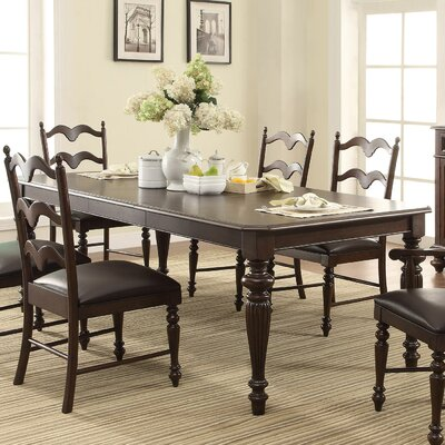 Cambridge Extendable Dining Table Finish: Molasses