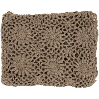 Throw Blanket Color: Taupe