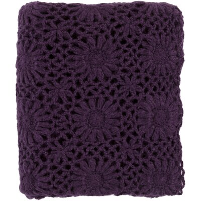 Throw Blanket Color: Eggplant