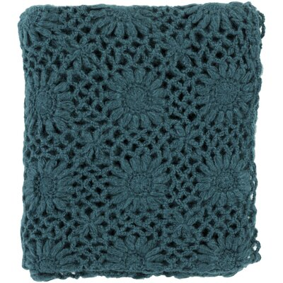 Throw Blanket Color: Teal