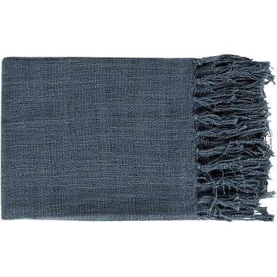 Euharlee Throw Blanket Color: Navy