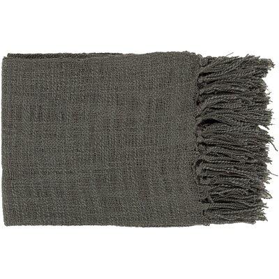 Euharlee Throw Blanket Color: Gray
