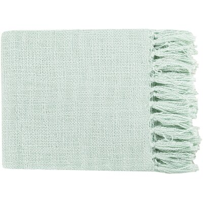 Euharlee Throw Blanket Color: Mint