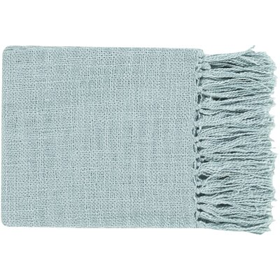 Euharlee Throw Blanket Color: Blue