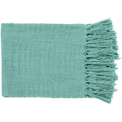 Euharlee Throw Blanket Color: Teal