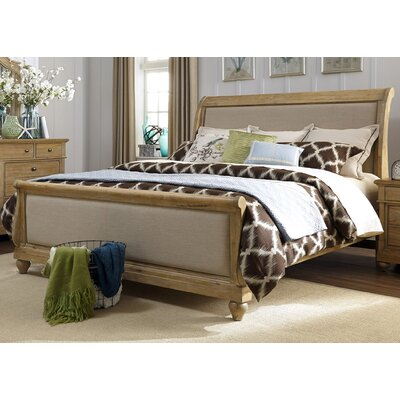 Ancolie Sleigh Bed