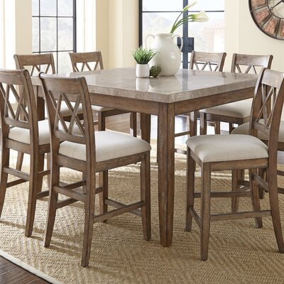 Portneuf 9 Piece Counter Height Dining Set