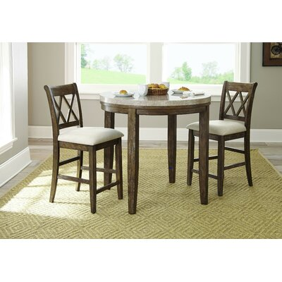 Portneuf 3 Piece Dining Set