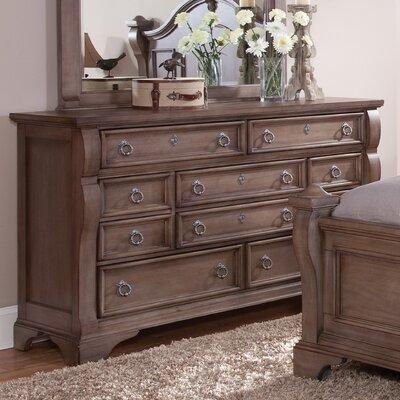 Dahlin 10 Drawer Standard Dresser