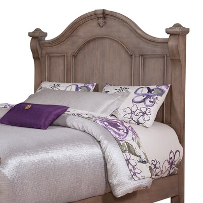 Heirloom Weathered Panel Headboard Size: Queen