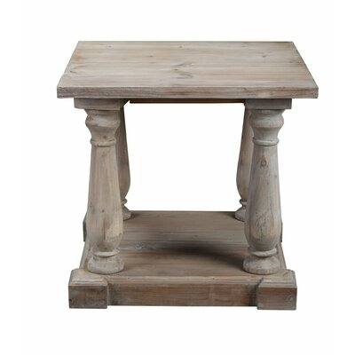 Primeaux End Table Finish: Gray Wash
