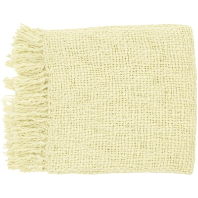 Roopville Throw Blanket Color: Ivory