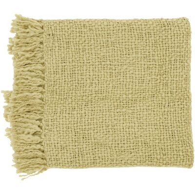Roopville Throw Blanket Color: Tan