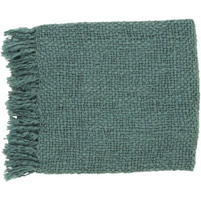 Roopville Throw Blanket Color: Teal