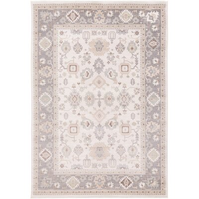 Joliet Plum/Tan Area Rug Rug Size: Rectangle 52 x 76