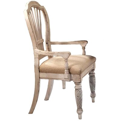 Kamie Arm Chair Finish: Antique White