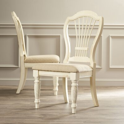 Halton Side Chair Finish: Antique White