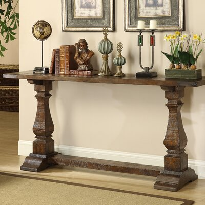 Louise Console Table in Brown