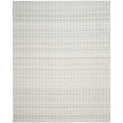 Anis Kilim Ivory/Silver Area Rug Rug Size: 8 x 10