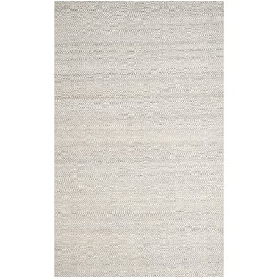 Anis Kilim Ivory/Graphite Area Rug Rug Size: 4 x 6