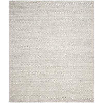 Anis Kilim Ivory/Graphite Area Rug Rug Size: 8 x 10