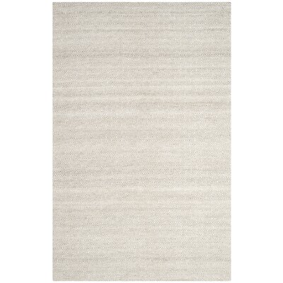 Anis Kilim Ivory/Silver Area Rug Rug Size: Rectangle 5 x 8