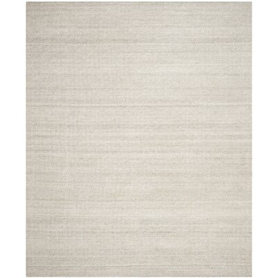 Anis Kilim Ivory/Silver Area Rug Rug Size: Rectangle 8 x 10