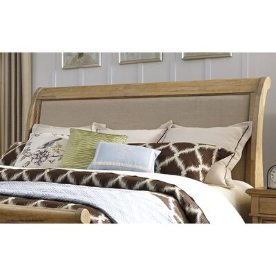 Ancolie Sleigh Headboard Size: King