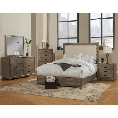 Camilla Upholstered Panel Bed