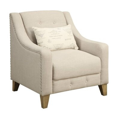 Touchette Beige Armchair