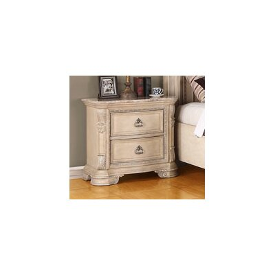 Esplanade 2 Drawer Nightstand