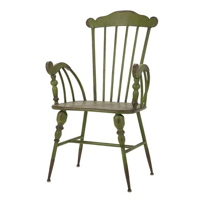 Trenton Arm Chair Finish: Green