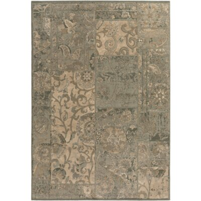 Celya Olive/Beige Area Rug Rug Size: Rectangle 2 x 33