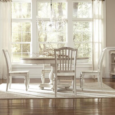 Quevillon 5 Piece Wood Dining Set