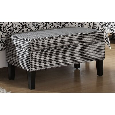 Bernice Cotton Storage Ottoman