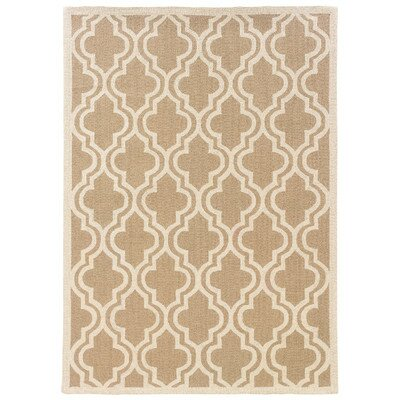 Baume Beige Area Rug Rug Size: Square 79 x 79