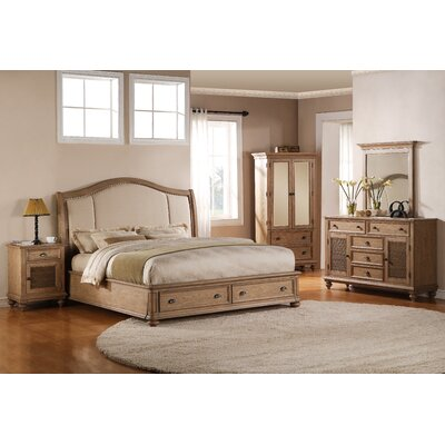 Quevillon Panel Configurable Bedroom Set