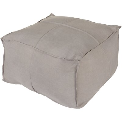 Vozelle Pouf Upholstery: Slate
