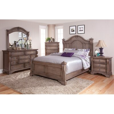 Rosas Panel Bed