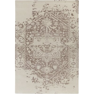 Pearl Hand-Tufted Beige Area Rug Rug Size: 4 x 6